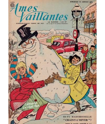 Revue Ames Vaillantes N° 2 paru en 1960
