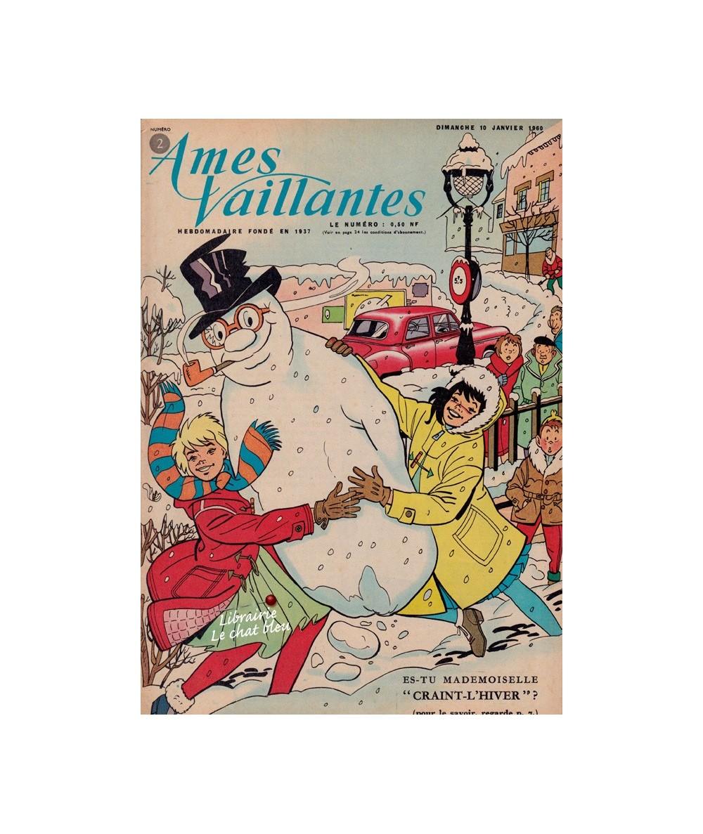 Ames Vaillantes N° 2 paru en 1960