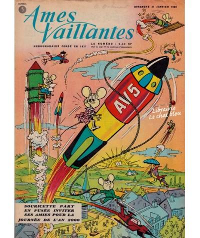 Revue Ames Vaillantes N° 5 paru en 1960