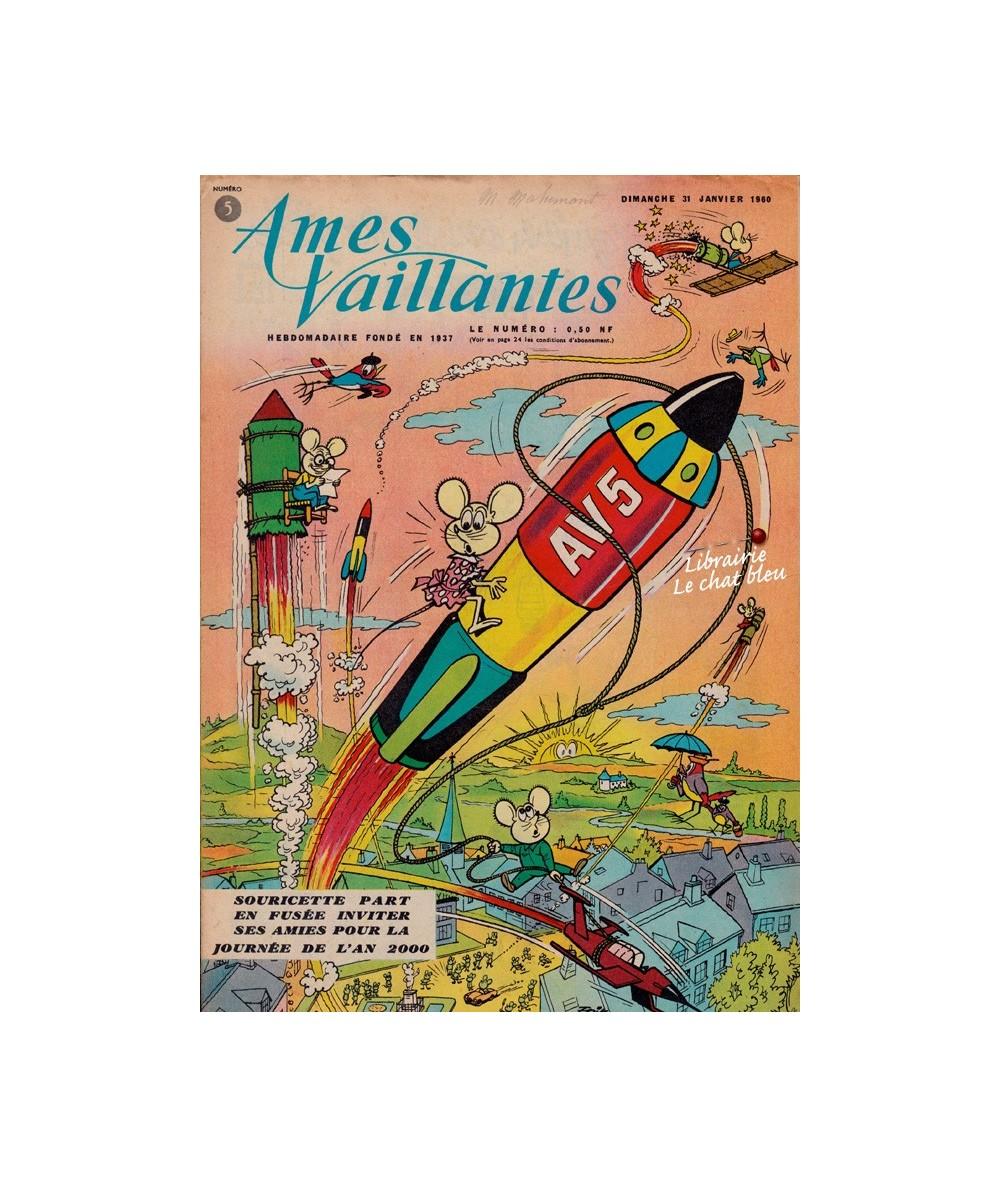 Ames Vaillantes N° 5 paru en 1960