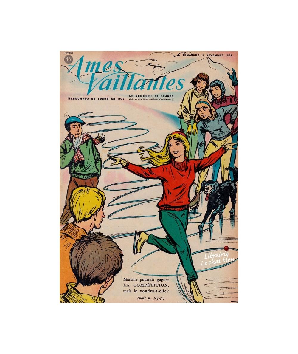 Ames Vaillantes N° 46 paru en 1959