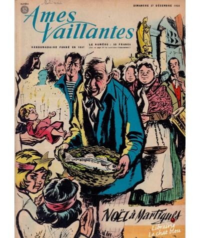 Revue Ames Vaillantes N° 52 paru en 1959