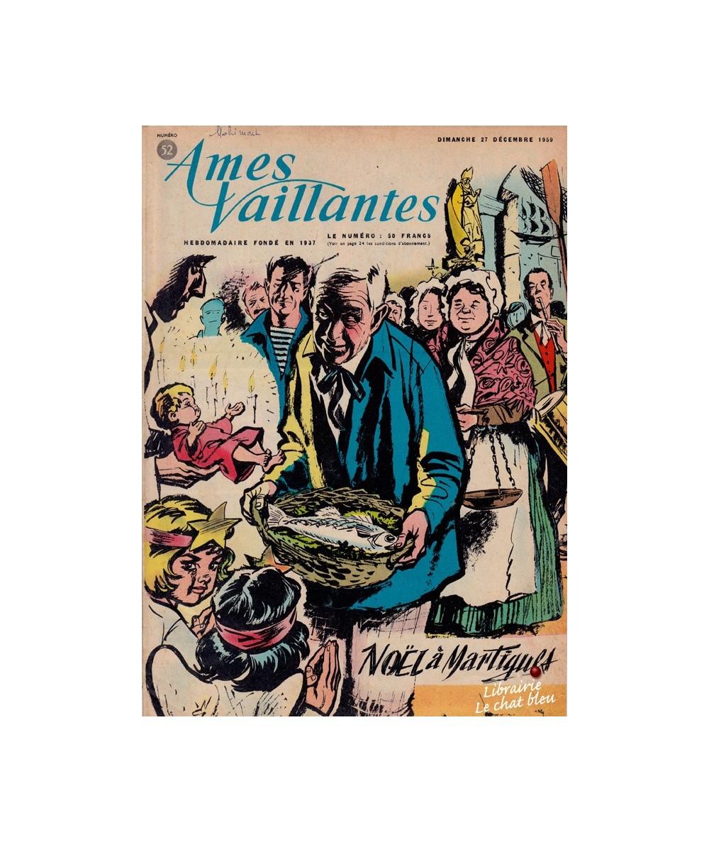 Ames Vaillantes N° 52 paru en 1959
