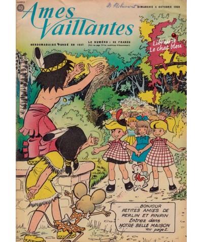 Revue Ames Vaillantes N° 40 paru en 1959
