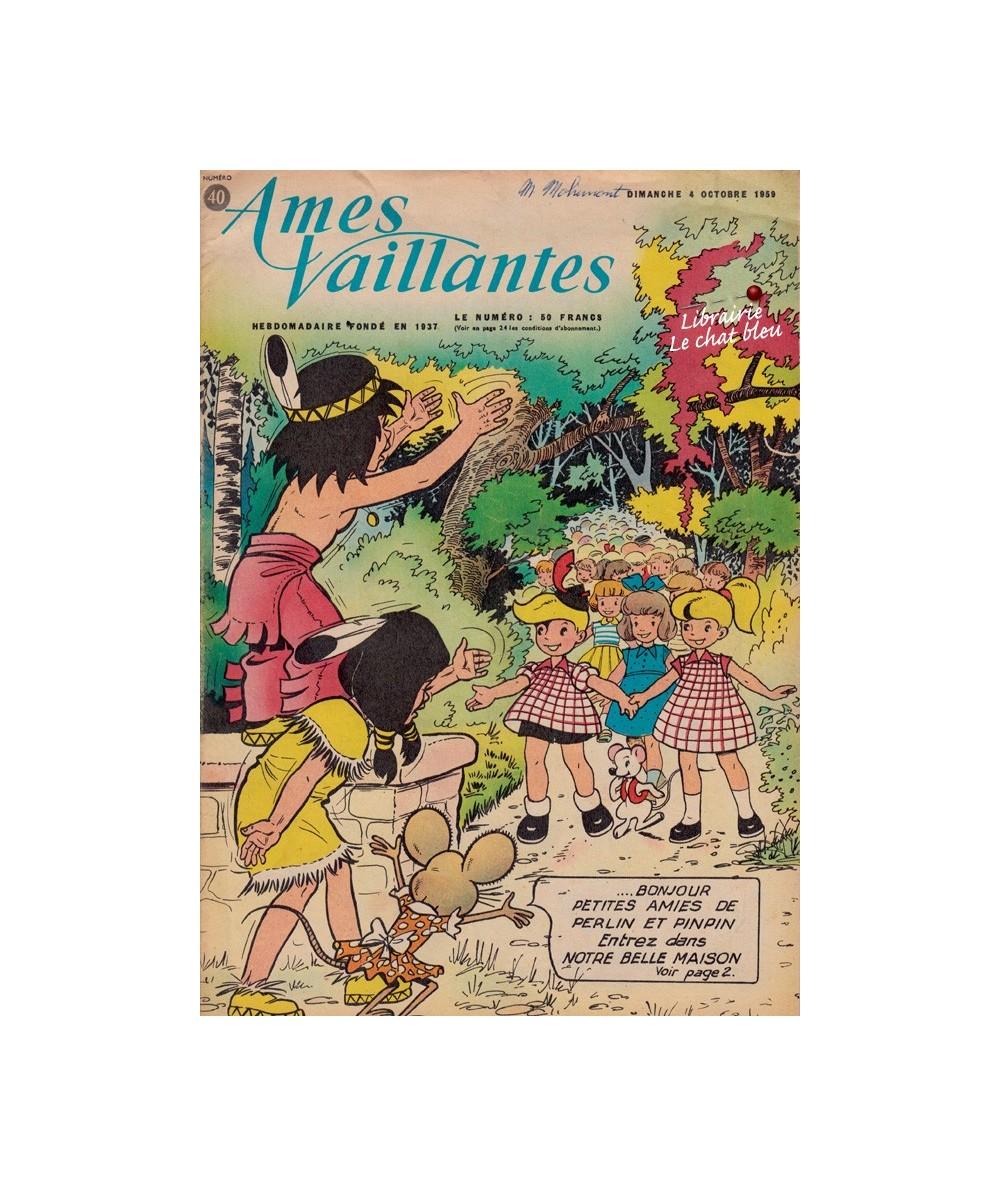 Ames Vaillantes N° 40 paru en 1959