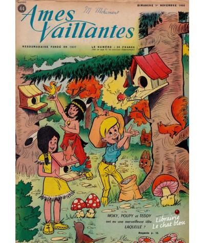 Revue Ames Vaillantes N° 44 paru en 1959