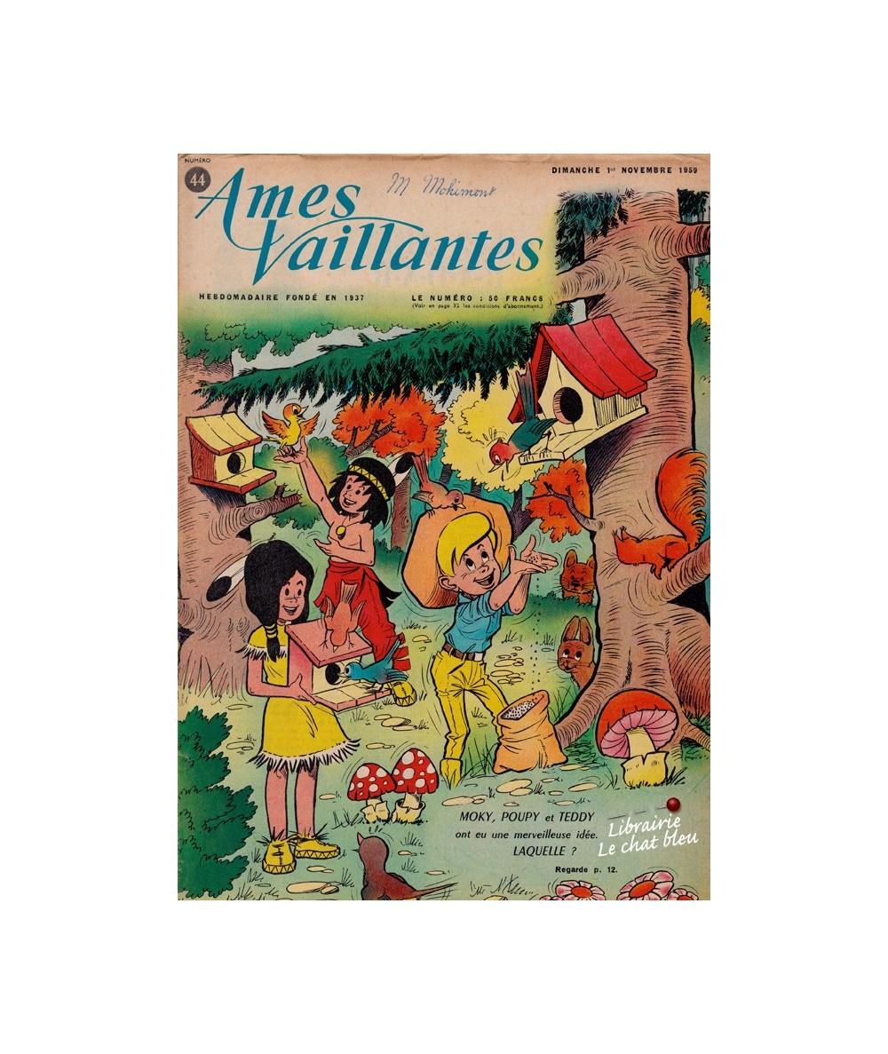 Ames Vaillantes N° 44 paru en 1959