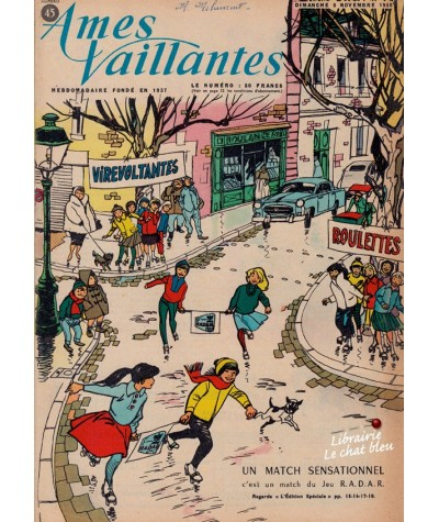 Revue Ames Vaillantes N° 45 paru en 1959