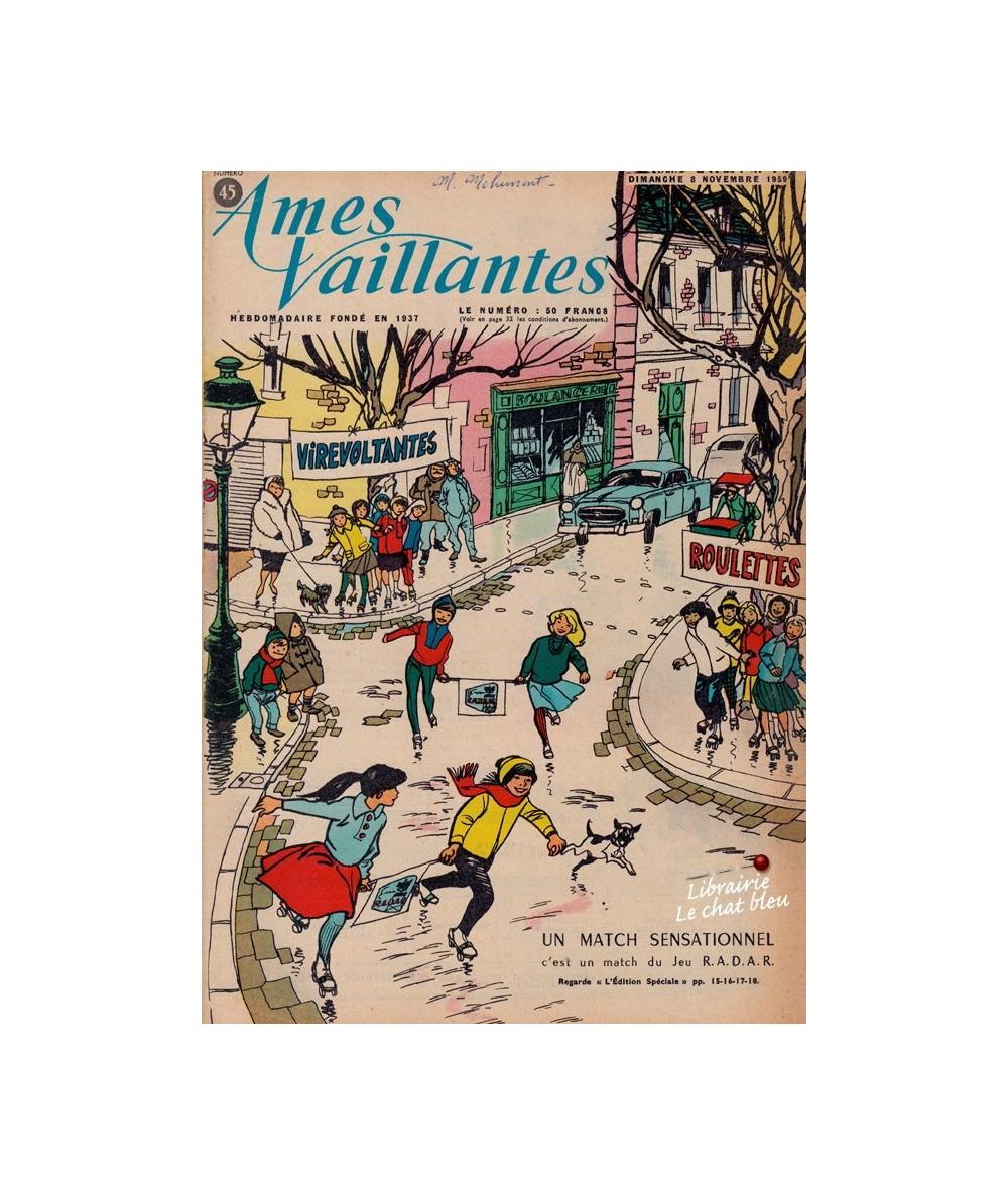 Ames Vaillantes N° 45 paru en 1959