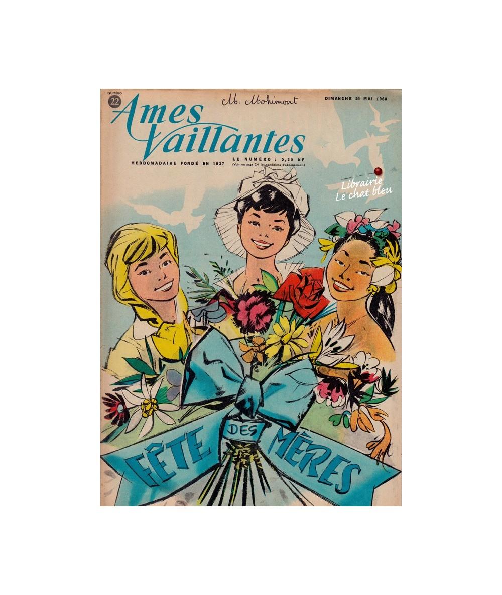 Ames Vaillantes N° 22 paru en 1960