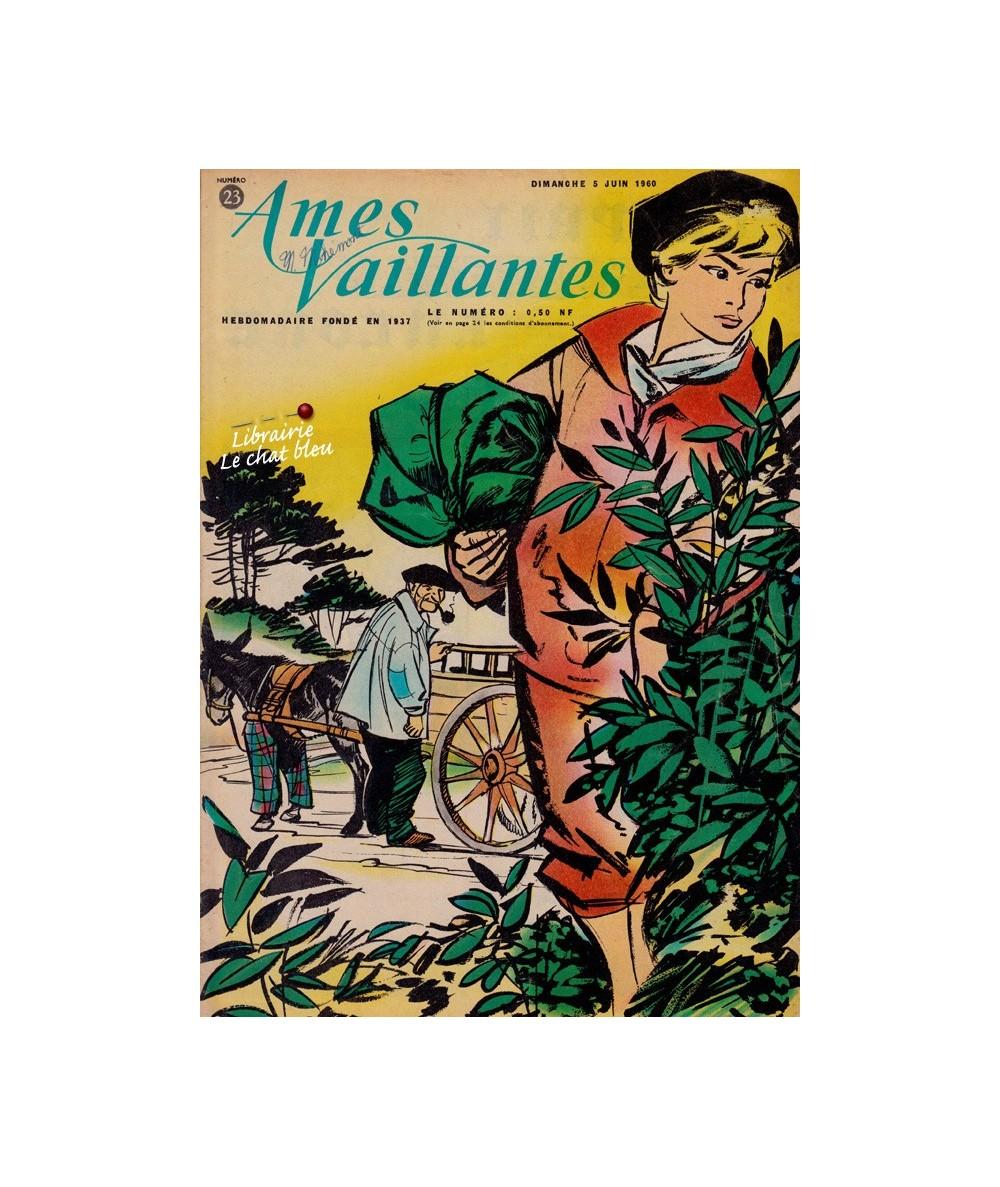 Ames Vaillantes N° 23 paru en 1960