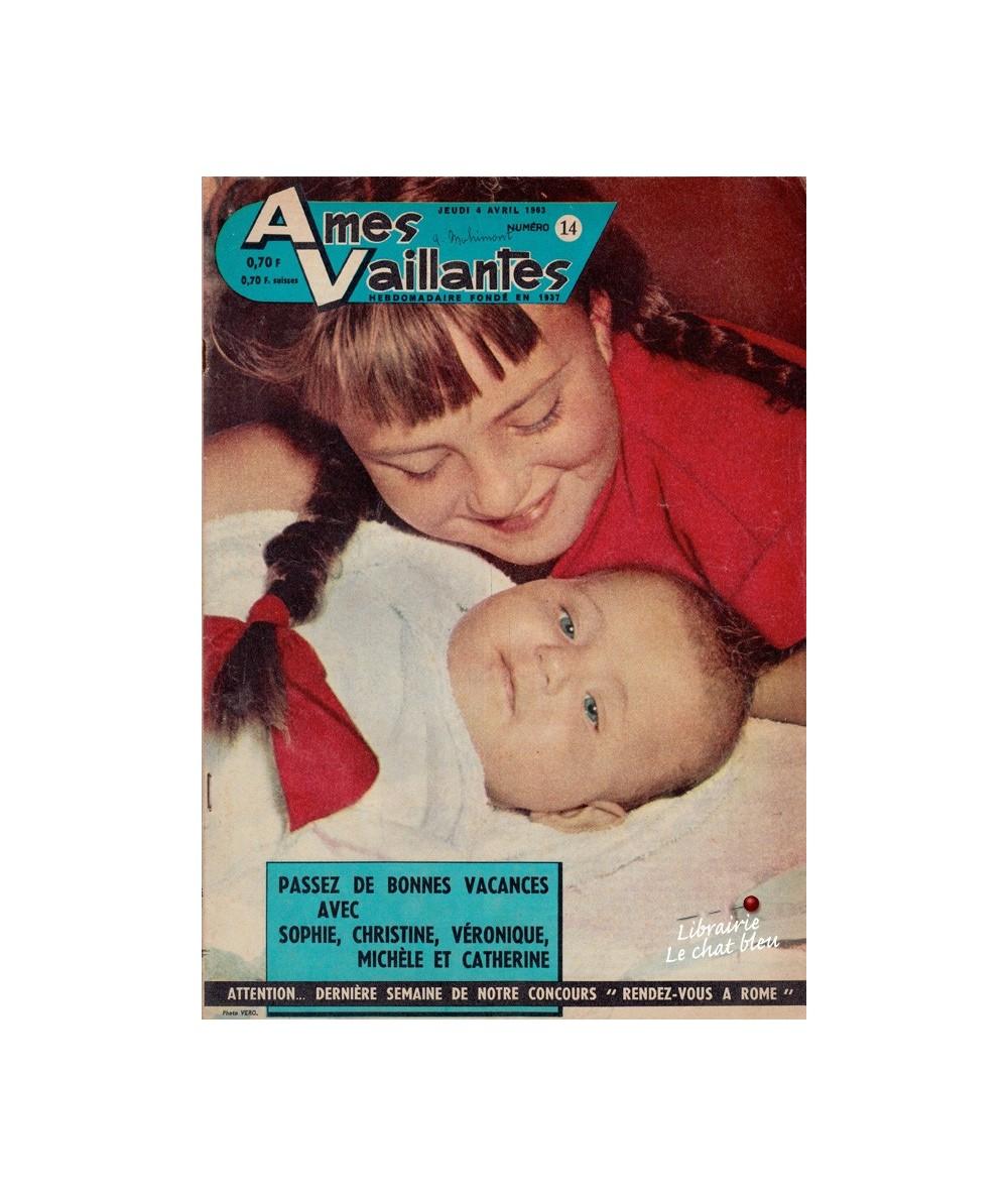 Ames Vaillantes N° 14 paru en 1963
