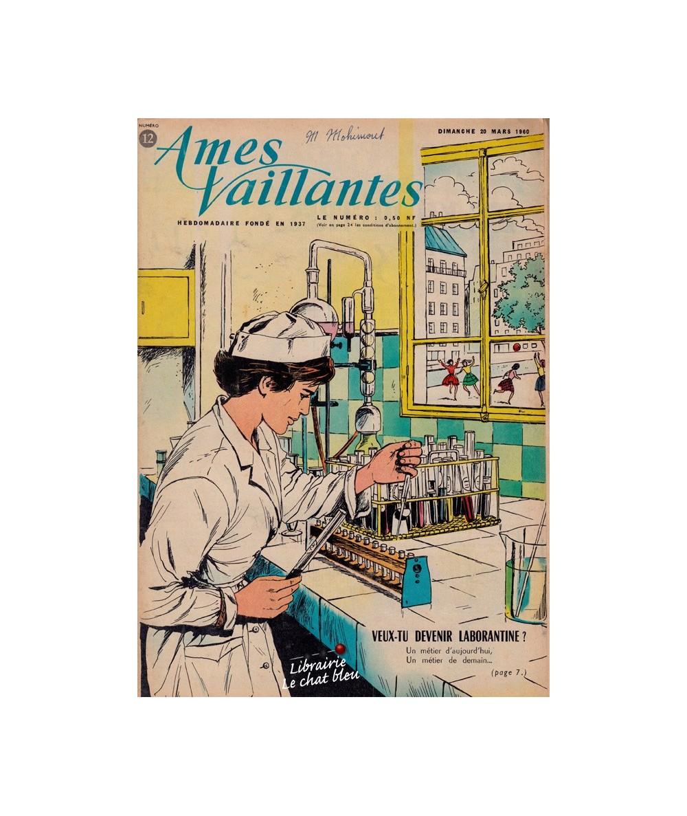 Ames Vaillantes N° 12 paru en 1960