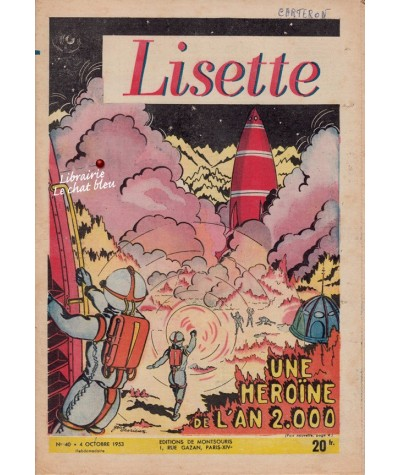 Revue Lisette N° 40 - Année 1953