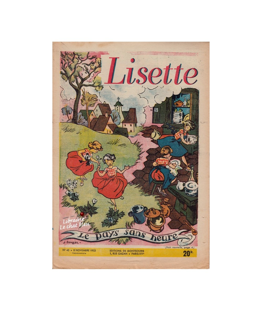 Lisette N° 45 - Année 1953