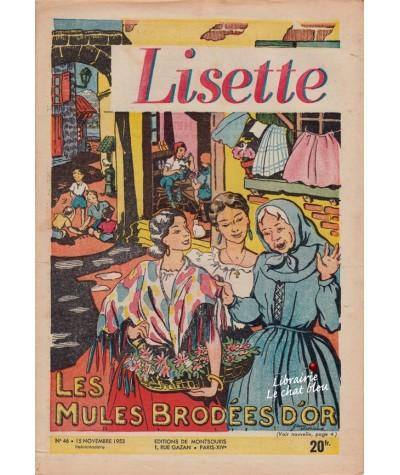Revue Lisette N° 46 - Année 1953