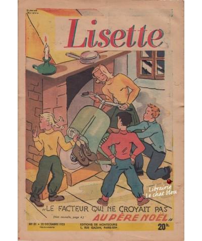 Revue Lisette N° 51 - Année 1953