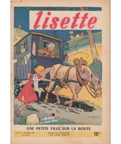 Revue Lisette N° 10 - Année 1953