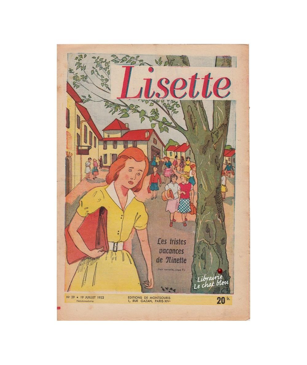 Lisette N° 29 - Année 1953