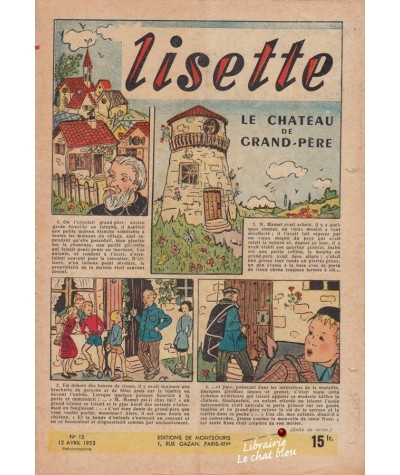 Revue Lisette N° 15 - Année 1953