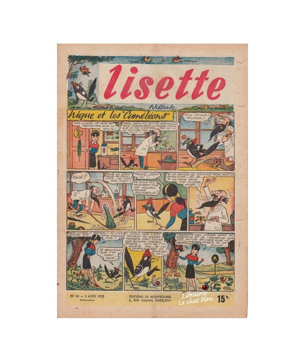 Lisette N° 14 - Année 1953