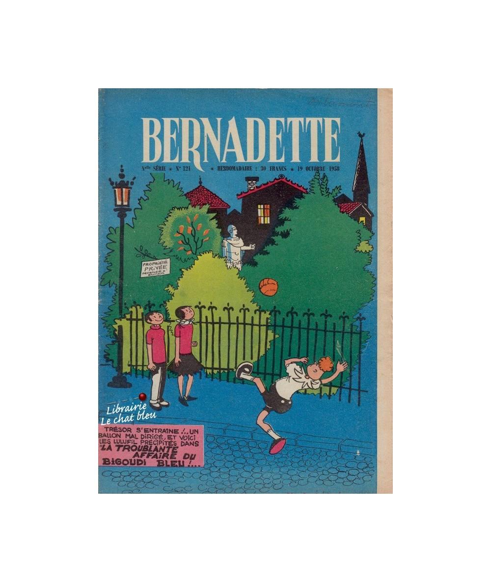 Bernadette N° 121 - Octobre 1958