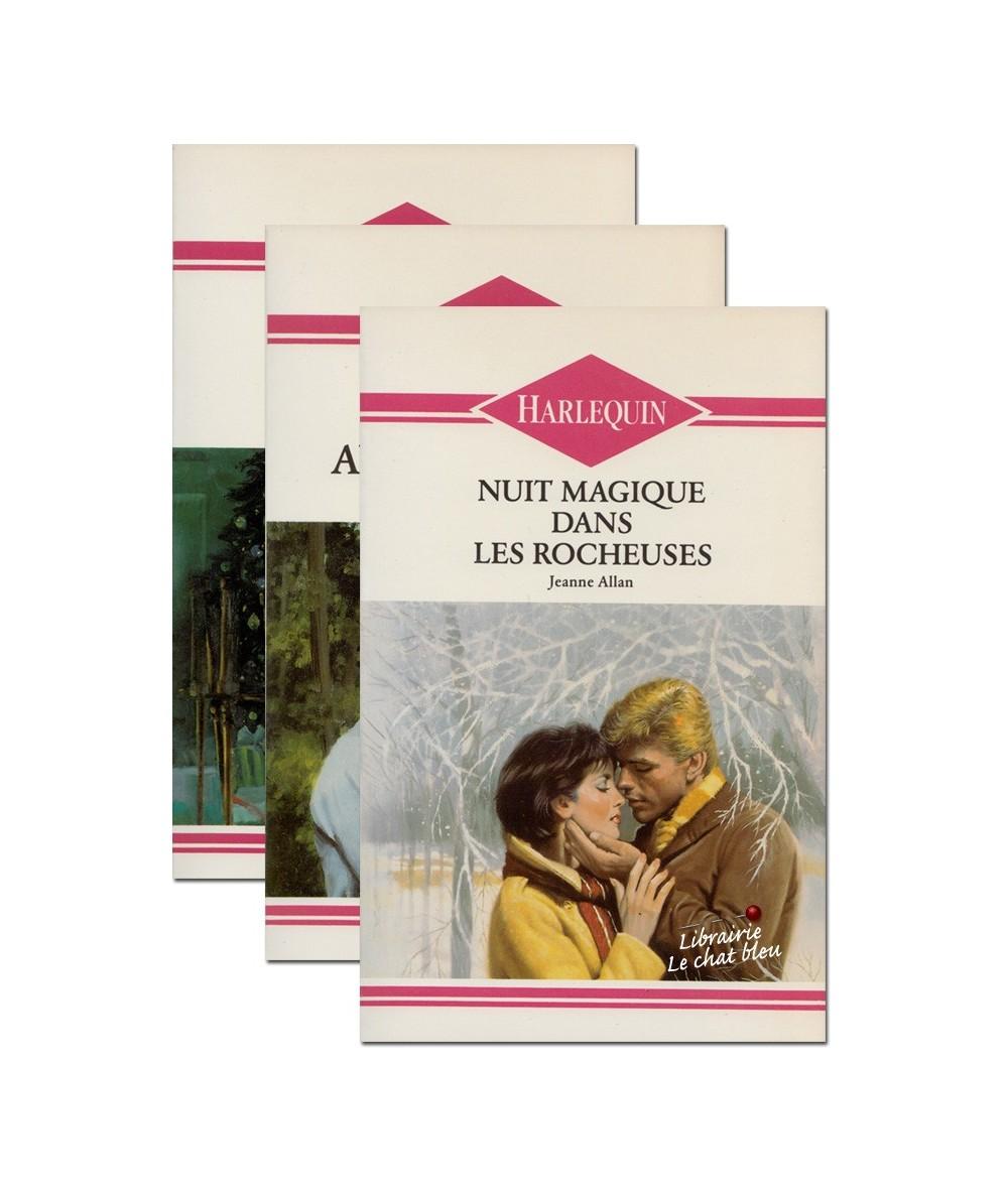 Pack 3 romans Harlequin (J. Arnold, J. Allan et R. Lane)