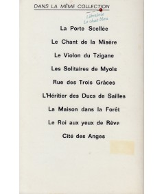 Les solitaires de Myols (Delly) - Editions du Dauphin