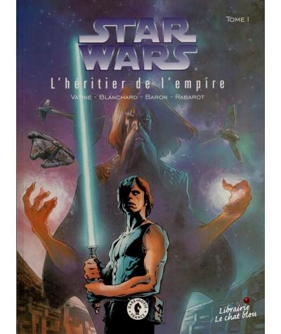 Star Wars, le cycle de Thrawn T1. L'héritier de l'empire (Baron, Vatine, Blanchard)