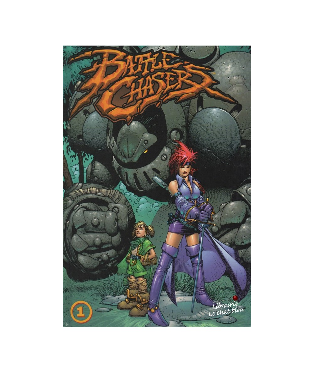 Battle Chasers T1. (Joe Madureira)