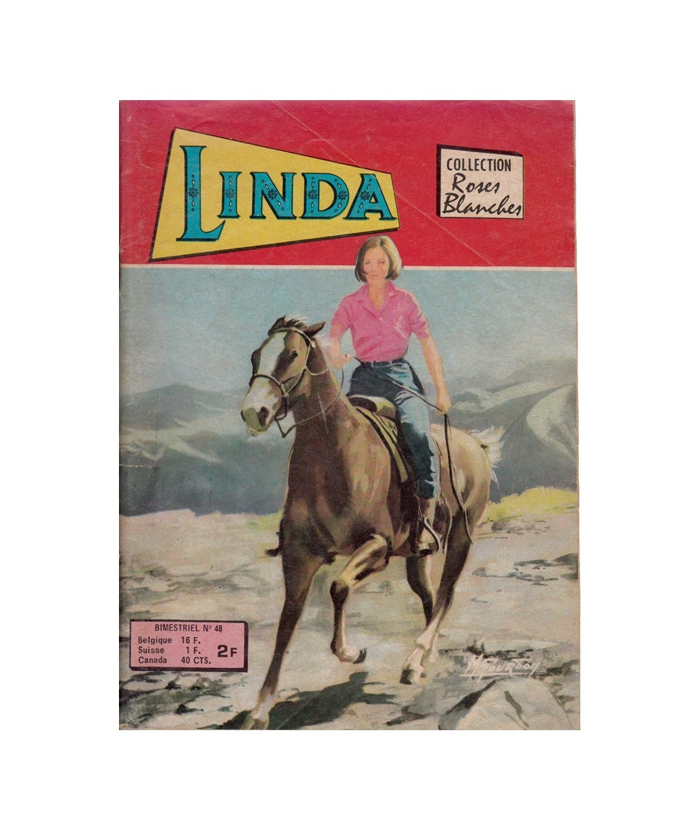 LINDA N° 48 - Collection Roses Blanches