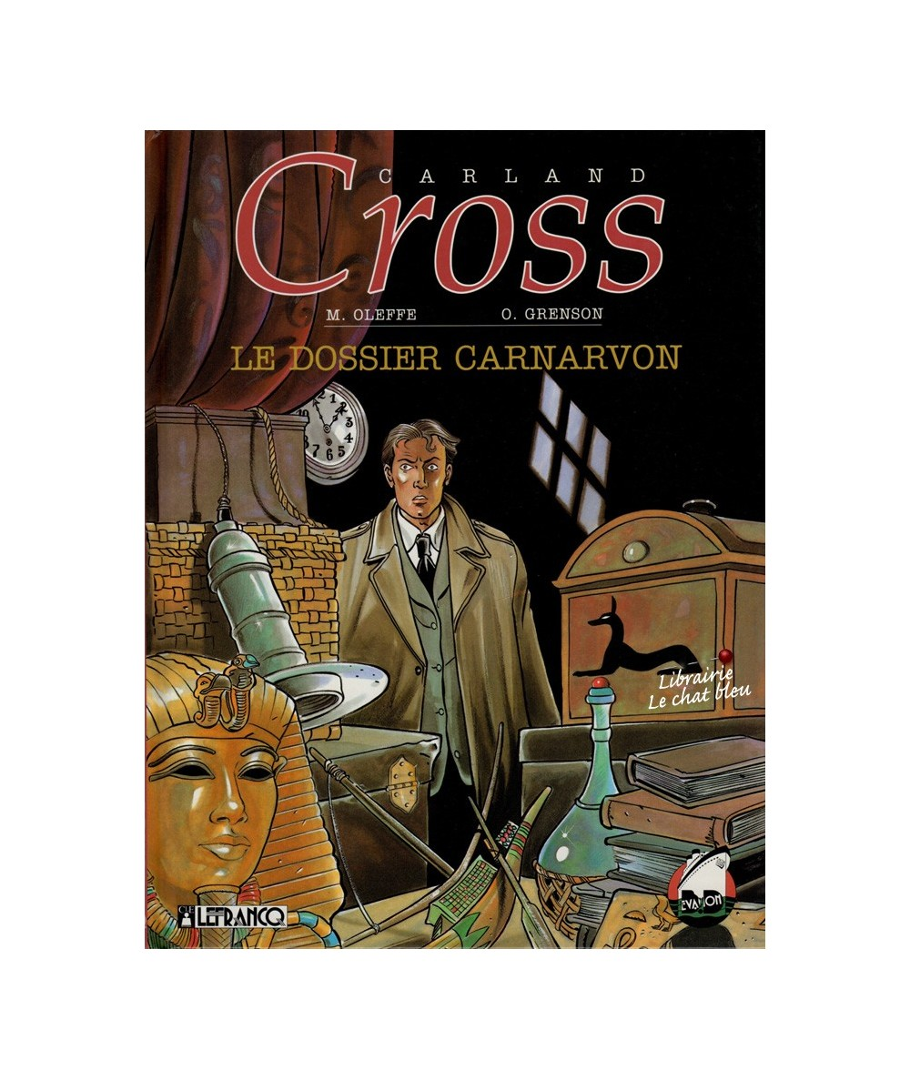 Tome 2. Carland Cross : Le dossier Carnarvon (Michel Oleffe, Olivier Grenson)
