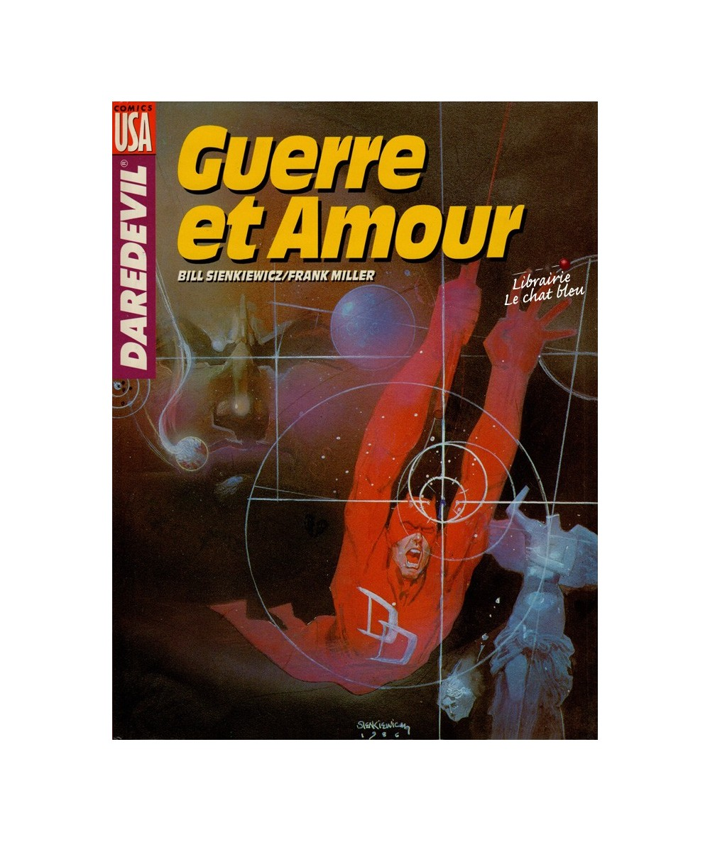 Daredevil : Guerre et Amour (Bill Sienkiewick, Frank Miller)