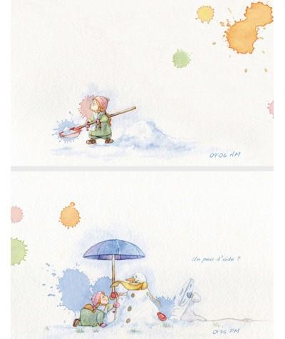 Mila à la neige (Sébastien Pridmore)
