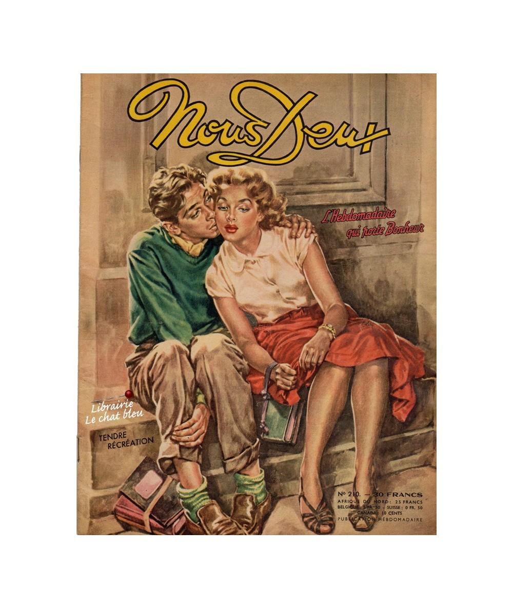 Nous Deux n° 210 - Paru en 1951 - Tendre récréation