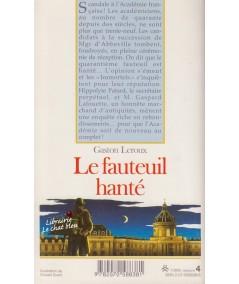 Folio Junior N° 758 - Le fauteuil hanté (Gaston Leroux)