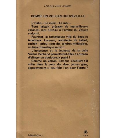Comme un volcan qui s'éveille (Daphné Colignon) - Collection Ambre N° 14