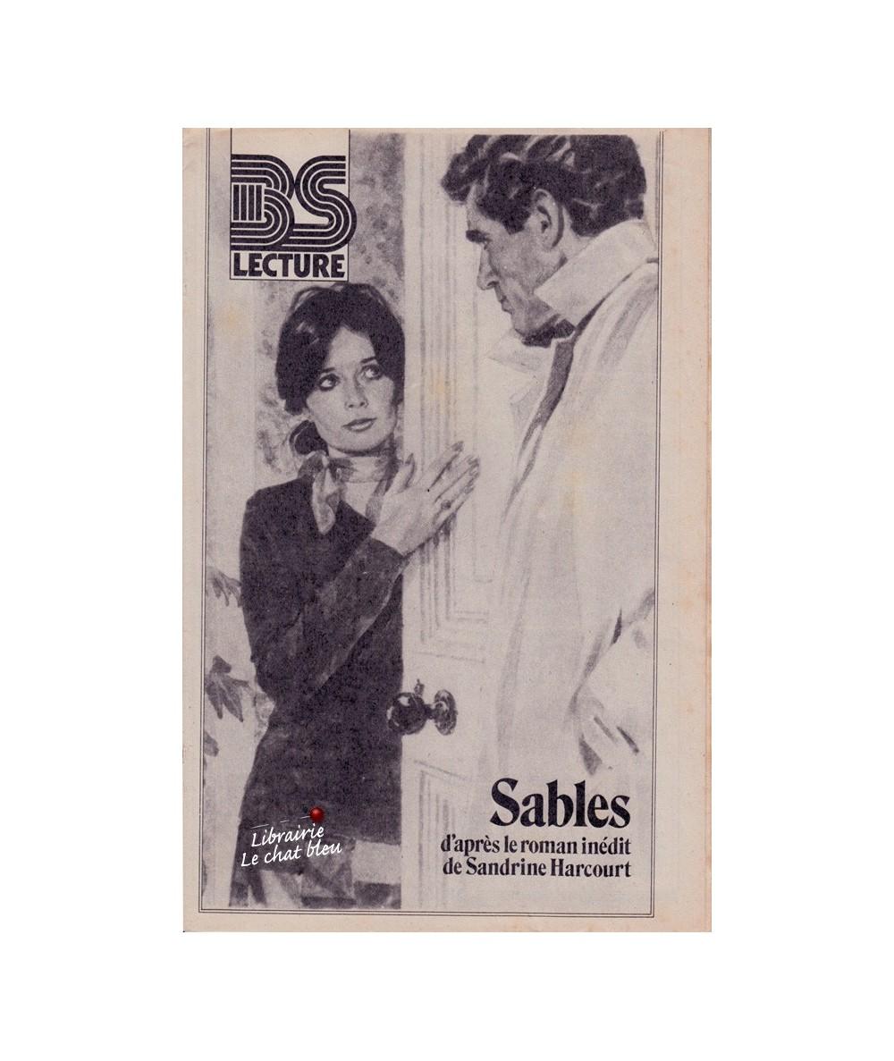 Sables d'après le roman de Sandrine Harcourt