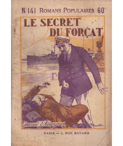Le secret du forçat (Gouraud d'Ablancourt) - Romans Polulaires N° 141