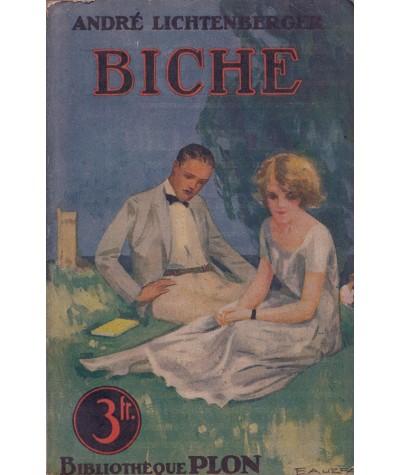 Biche (André Lichtenberger) - Bibliothèque PLON N° 86
