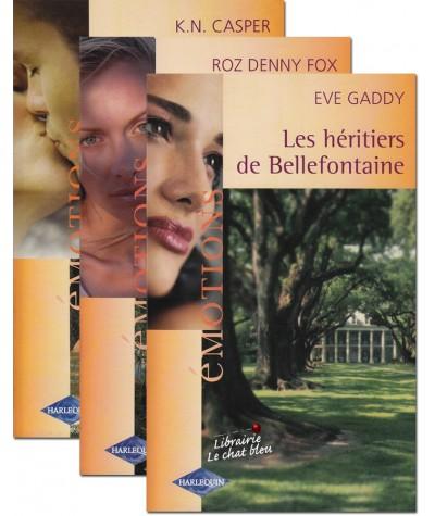 Les héritiers de Bellefontaine (Eve Gaddy, Roz Denny Fox et K. N. Casper)