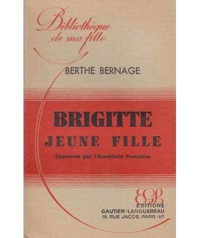Brigitte jeune fille (Berthe Bernage) - Bibliothèque de ma fille