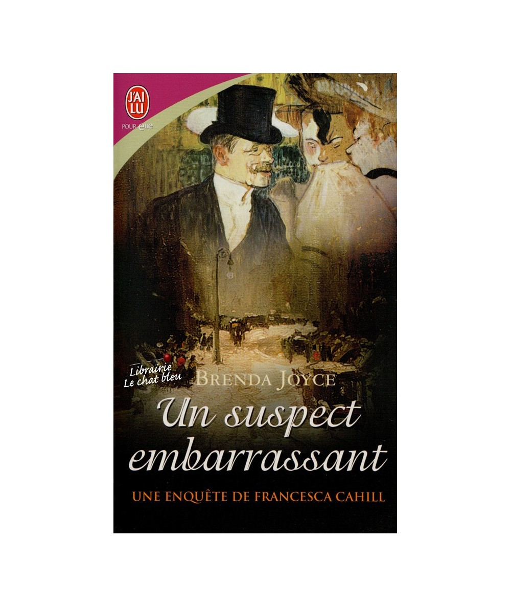 N° 8022 - Une enquête de Francesca Cahill T2 : Un suspect embarrassant (Brenda Joyce)