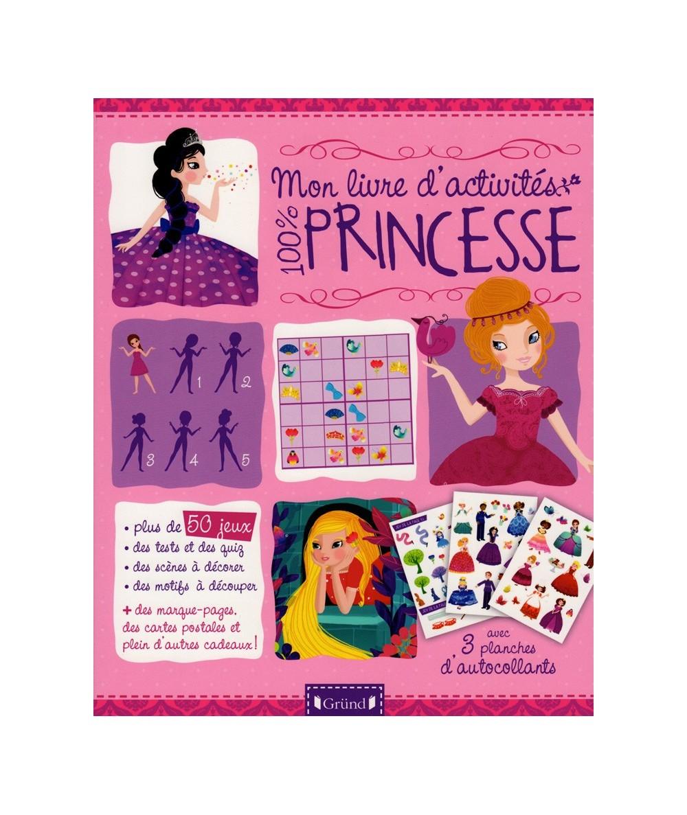 Mon livre d'activités 100 % Princesse