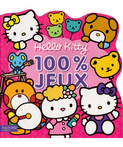 Livre d'activités - Hello Kitty : 100 % jeux