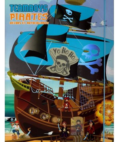 Pirates : Décors et autocollants - Livre d'activités