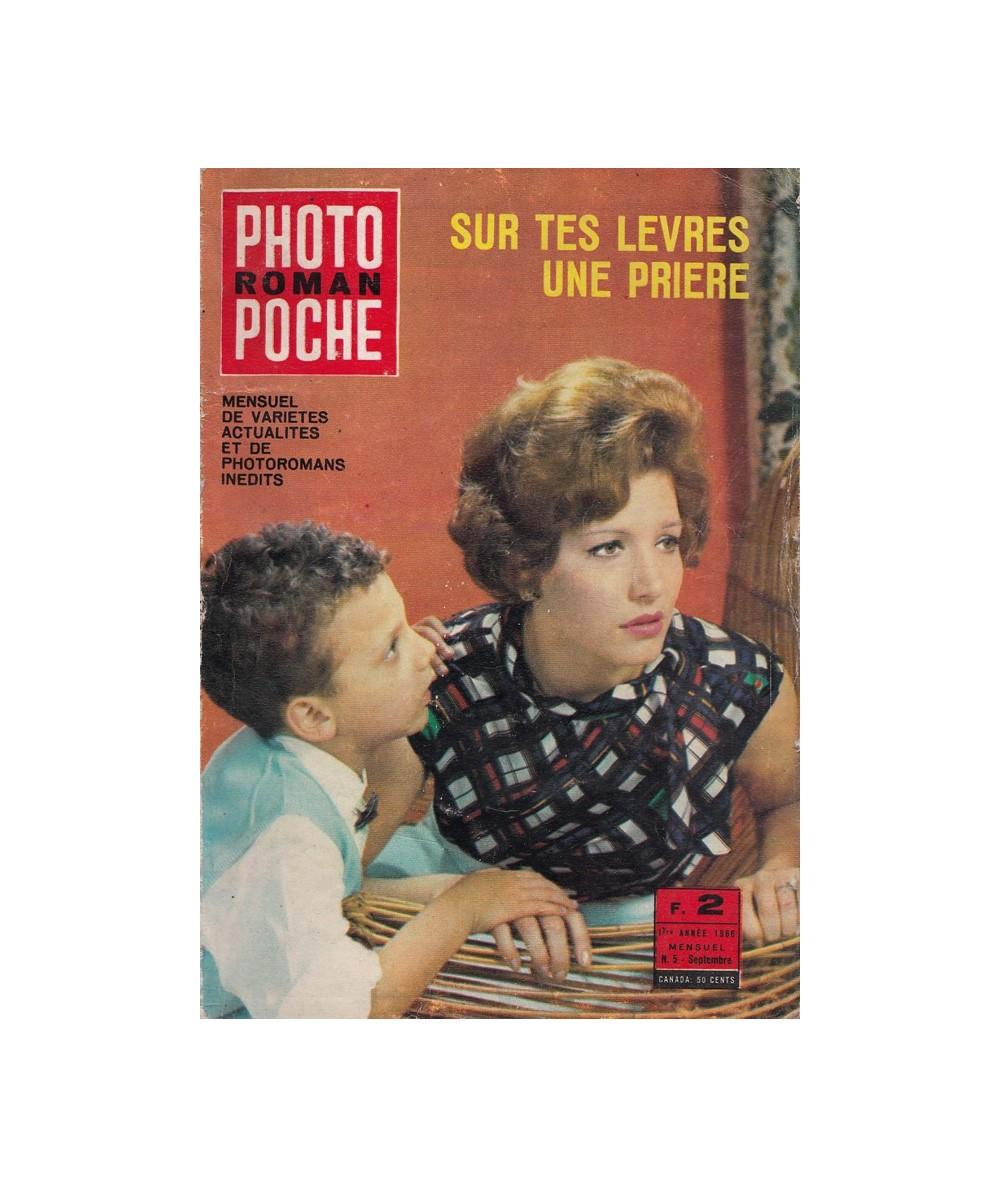 PHOTO POCHE Roman N° 5 : Sur tes lèvres une prière