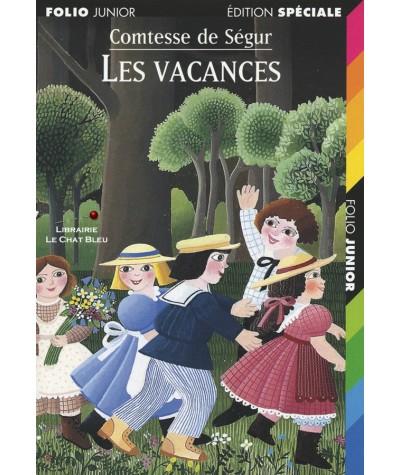 Folio Junior N° 48 - Les vacances (Comtesse de Ségur)