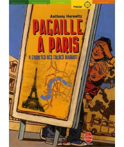 Les frères Diamant T4 : Pagaille à Paris (Anthony Horowitz)