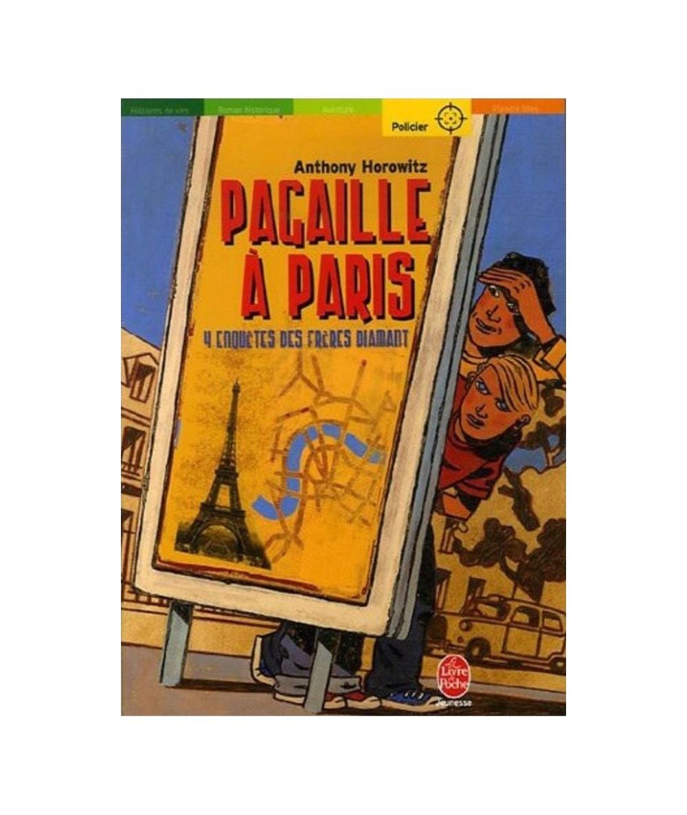 Les frères Diamant T4 : Pagaille à Paris (Anthony Horowitz)